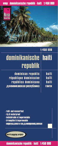 Buy map Dominican Republic and Haiti by Reise Know-How Verlag