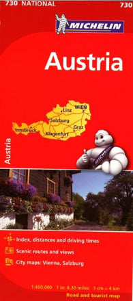 Buy map Austria (730) by Michelin Maps and Guides