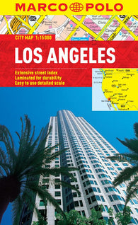 Buy map Los Angeles, California by Marco Polo Travel Publishing Ltd