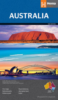 Buy map Australia, large format by Hema Maps