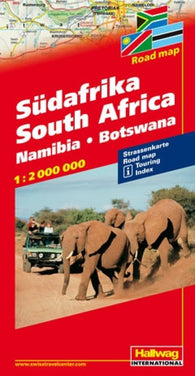 Buy map South Africa by Hallwag