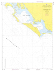 Buy map Cabo San Lazaro a Isla Creciente, B.C.S. by Secretaria de Marina