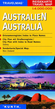 Buy map Australia by Kunth Verlag