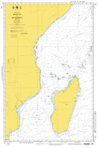 Buy map Maputo To Mogadishu (NGA-701-3) by National Geospatial-Intelligence Agency