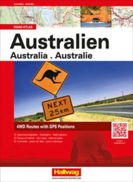 Buy map Australia Road Atlas by Hallwag