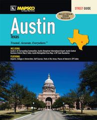 Buy map Austin, Texas, Atlas by Kappa Map Group