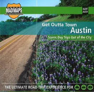 Buy map Austin, Texas, Get Outta Town by MAD Maps