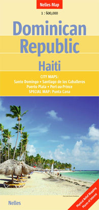 Buy map Dominican Republic and Haiti by Nelles Verlag GmbH