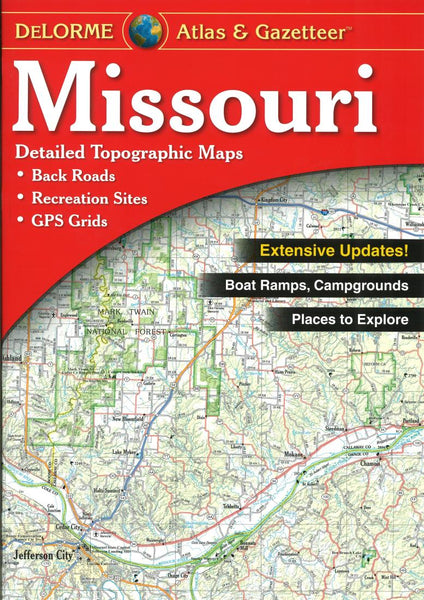 Buy map Missouri Atlas and Gazetteer by DeLorme