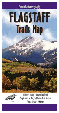 Buy map Flagstaff, Arizona, Trails Map by Emmitt Barks Cartography