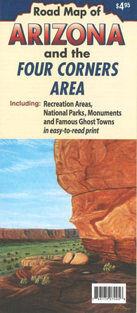 Buy map Arizona and the Four Corners area by North Star Mapping