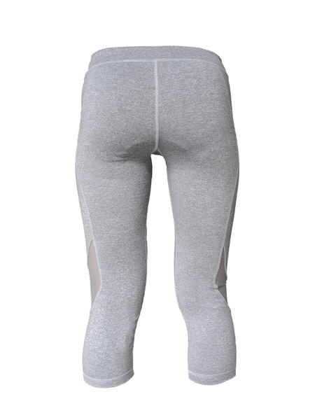 Grey Jane Capri 3/4 legging back