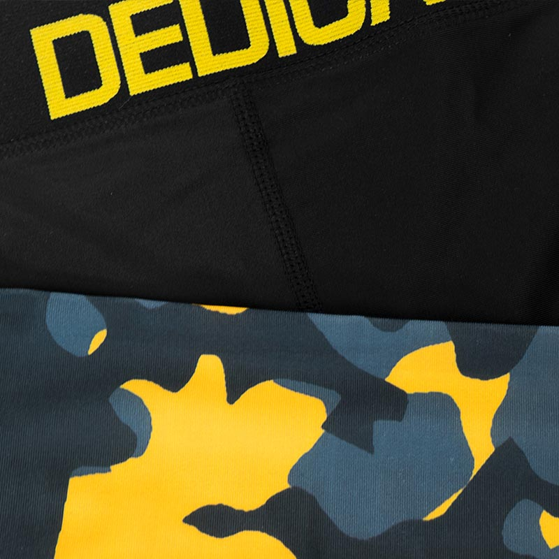 Camo Leggings Men by Dedicated Nutrition - detail view