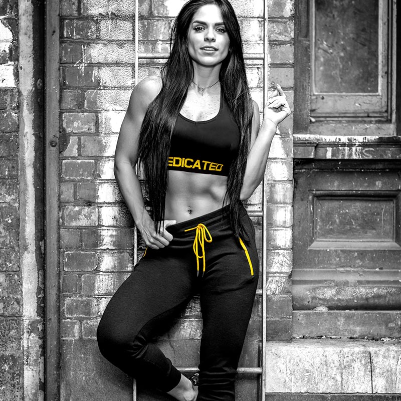 Women Highwaist Sweatpants by Dedicated Nutrition