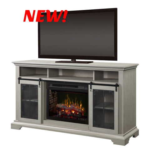 Dimplex Olivia Electric Fireplace Media Console in Stone Fox - DFP25LD-1934SF