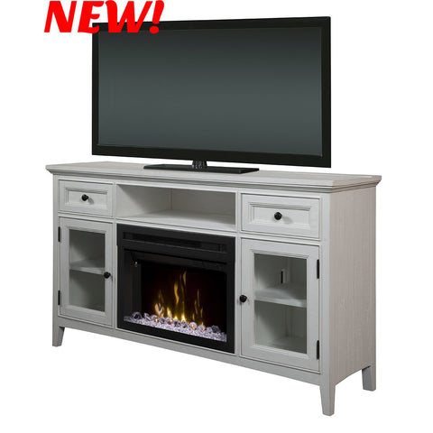 Dimplex Sophia Electric Fireplace Media Console in Ivory GDS25GD-4400IV
