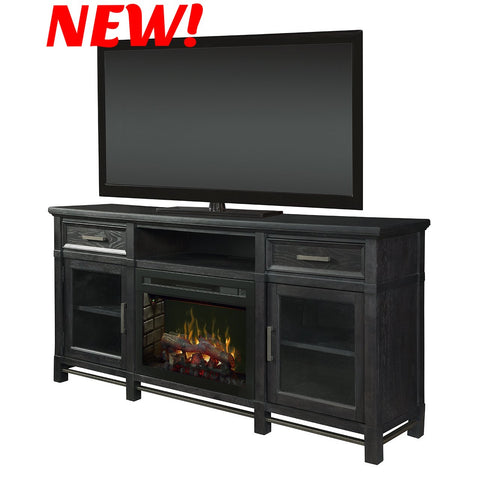 Dimplex Jane Electric Fireplace Media Console in Inkwell