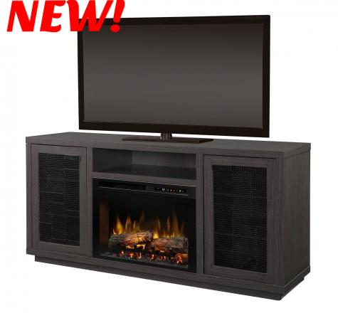 Dimplex Swayze Electric Fireplace Media Console in Night Horizon Finish GDS26L8-1917NH