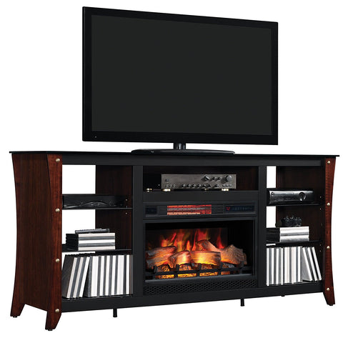 Marlin Classic Flame Media Console Cabinet 26MM9689-NC72