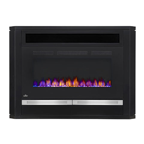 Napoleon Alanis Electric Fireplace Media Console in Black - NEFP42-1815B