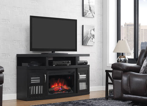 Classic Flame Cantilever Electric Fireplace Media Console - 26MM5508-NB04