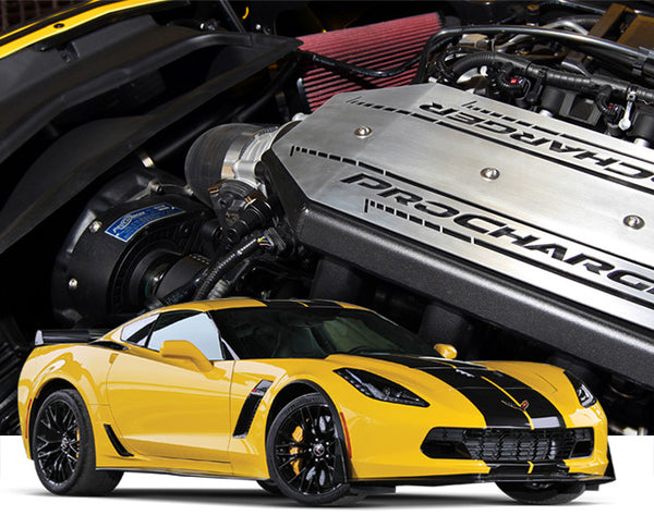 2015-16 Chevrolet Corvette C7 Z06 LT4 1GU204-SCI-F1 Intercooled RACE TUNER KIT with F-1D, F-1, or F-1A