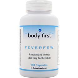Buy Body First, Feverfew, 100 caps at Herbal Bless Supplement Store