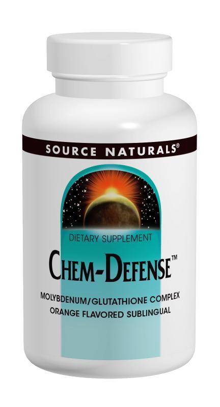 Buy Chem-Defense™ - Molybdenum, Glutathione, Vit B2 Complex - Orange, 45 Lozenges at Herbal Bless Supplement Store