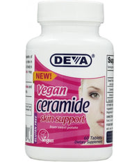 Buy Deva, Vegan Ceramide Skin Support, 60 tablet at Herbal Bless Supplement Store