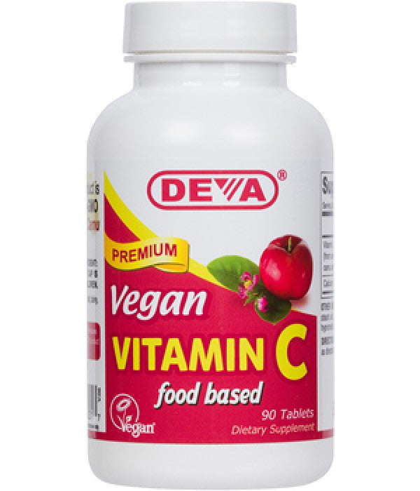 Buy Deva, Vegan Vitamin C (Food Based), 90 tablet at Herbal Bless Supplement Store