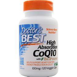 Buy Doctor's Best, High Absorption CoQ10 w/ Bioperine (100mg) at Herbal Bless Supplement Store