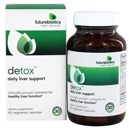 Buy Futurebiotics, Detox, 60 Vegetarian Capsules at Herbal Bless Supplement Store