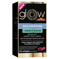 Buy Glow by Nature Made, Skin Moisture + Hair & Nails Softgels - 50ct at Herbal Bless Supplement Store