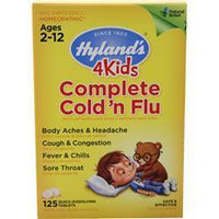 Buy Hylands Homeopathic, 4Kids Complete Cold 'n Flu, 125 tabs at Herbal Bless Supplement Store