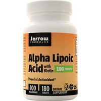 Buy Jarrow, Alpha Lipoic Acid with Biotin, 180 tabs at Herbal Bless Supplement Store