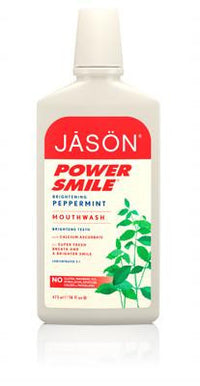 Buy Jason Natural, Brightening Peppermint Mouthwash, 16 oz at Herbal Bless Supplement Store