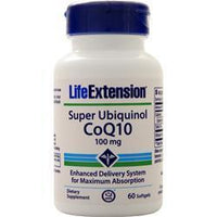 Buy Life Extension, Super Ubiquinol CoQ10 (100mg), 60 sgels at Herbal Bless Supplement Store