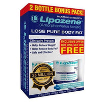 Buy Lipozene, 2pk Maximum-Strength Weight Loss, Capsules 60 at Herbal Bless Supplement Store