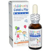 Buy NatraBio, Children's Cold & Flu Relief, 1 fl oz (30 ml) at Herbal Bless Supplement Store