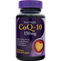 Buy Natrol, Coenzyme Q-10 (150mg) 30 sgels at Herbal Bless Supplement Store