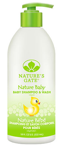 Buy Nature's Gate, Vegan Baby Shampoo & Wash, 18 oz at Herbal Bless Supplement Store