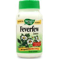 Buy Nature's Way, Feverfew Leaf, 100 caps at Herbal Bless Supplement Store