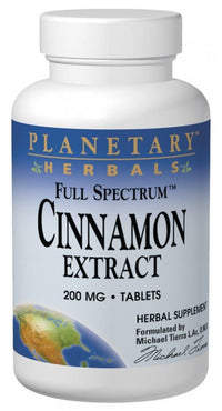 Buy PLANETARY HERBALS, Cinnamon Extract 200mg Full Spectrum™, 120 capvegi at Herbal Bless Supplement Store