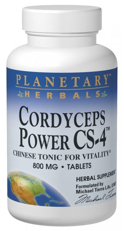 Buy PLANETARY HERBALS, Cordyceps Power CS-4™, 120 tablet at Herbal Bless Supplement Store