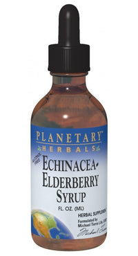 Buy PLANETARY HERBALS, Echinacea-Elderberry Syrup™, 8 oz at Herbal Bless Supplement Store