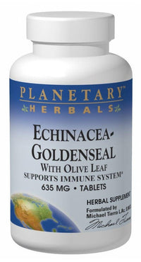 Buy PLANETARY HERBALS, Echinacea-Goldenseal with Olive Leaf, 30 tablet at Herbal Bless Supplement Store