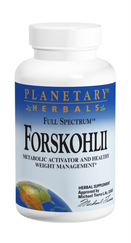 Buy PLANETARY HERBALS, Forskohlii Full Spectrum™ 130mg, 60 capsule at Herbal Bless Supplement Store