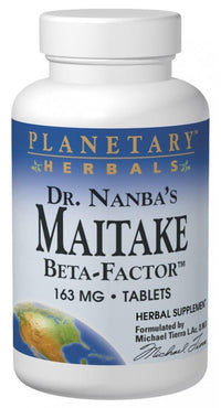 Buy PLANETARY HERBALS, Maitake Beta-Factor™, 120 Tablets at Herbal Bless Supplement Store