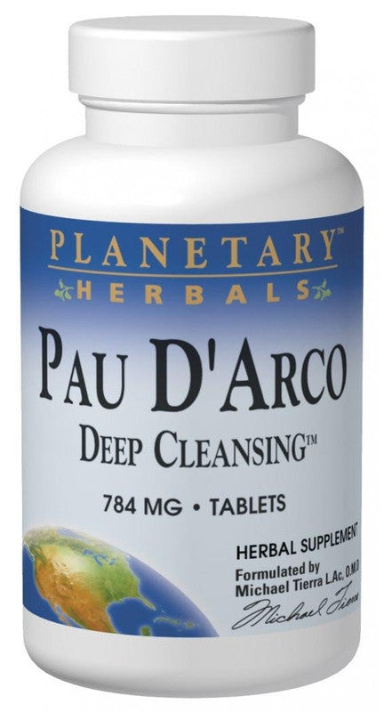 Buy PLANETARY HERBALS, Pau D'Arco Deep Cleansing™, 150 tablet at Herbal Bless Supplement Store
