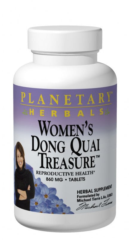 Buy PLANETARY HERBALS, Women's Dong Quai Treasure™, 120 tablet at Herbal Bless Supplement Store